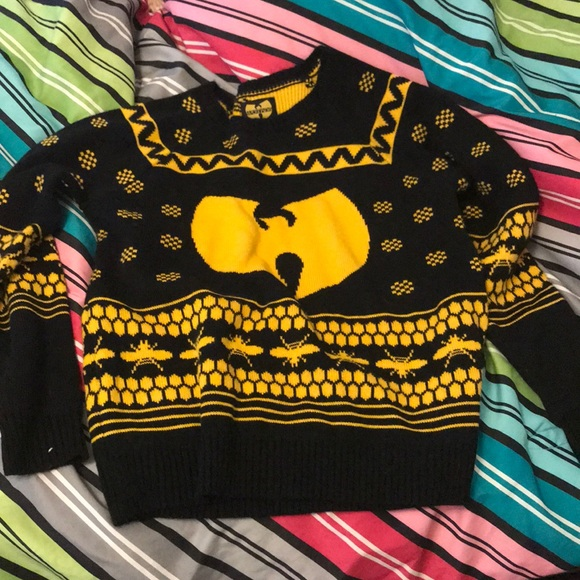 Urban Outfitters Sweaters Wutang Clan Ugly Christmas Sweater